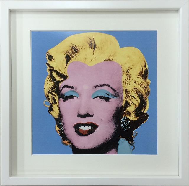 アートフレーム アンディ・ウォーホル Andy Warhol Shot Blue Marilyn,1964 iaw-60609 絵画 壁掛け おしゃれ 送料無料