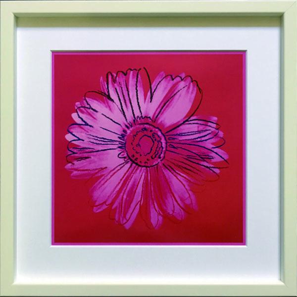 アートフレーム アンディ・ウォーホル Andy Warhol Daisy, c.1982(crimson and pink) iaw-60666 絵画 壁掛け おしゃれ 送料無料
