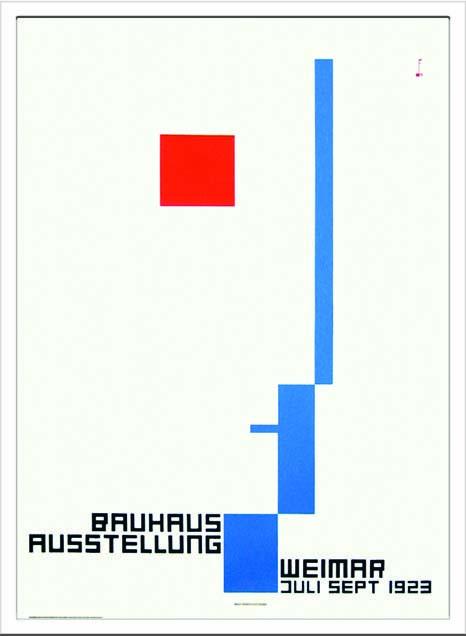 アートフレーム バウハウス Bauhaus Weimar Ausstellung 1923 ibh-70038 絵画 壁掛け おしゃれ 送料無料