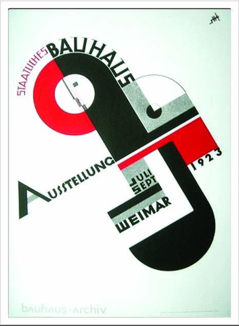 アートフレーム バウハウス Bauhaus Weimar Ausstellung 1923 ibh-70048 絵画 壁掛け おしゃれ 送料無料