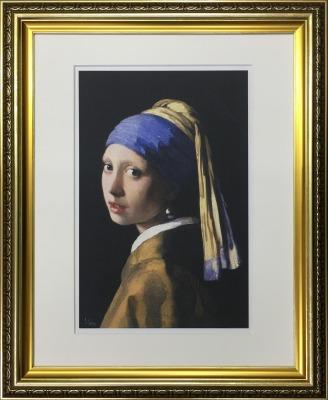 アートフレーム 名画 ヨハネス・フェルメール Johannes Vermeer 真珠の耳飾りの少女 ifa-60897 絵画 壁掛け おしゃれ