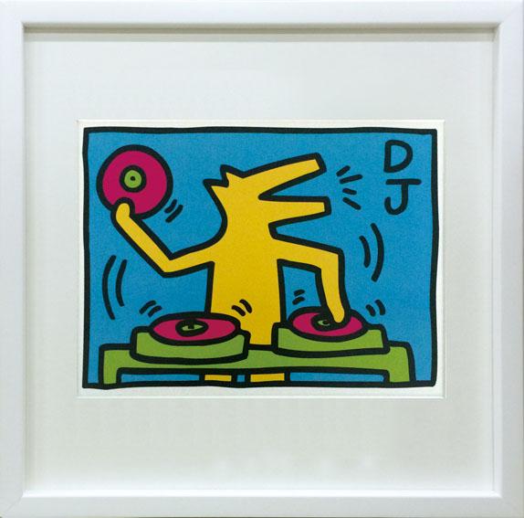 ポップアート キースへリング  Keith Haring Untitled ikh-60644 絵画 壁掛け おしゃれ