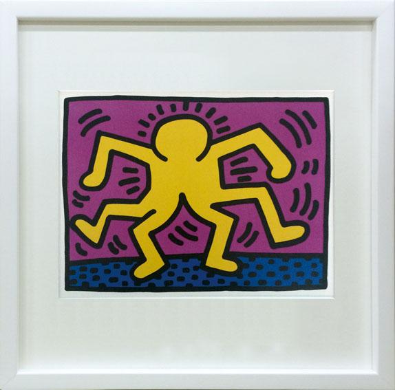 ポップアート キースへリング Keith Haring Untitled ikh-60645 絵画 壁掛け おしゃれ