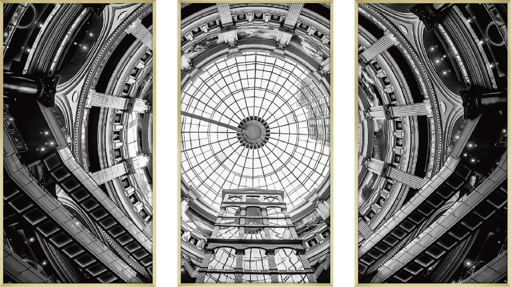 アートフレーム CLASSIC B&W PHOTOGRAPHY 3枚セット ipl-61129 絵画 壁掛け おしゃれ 送料無料