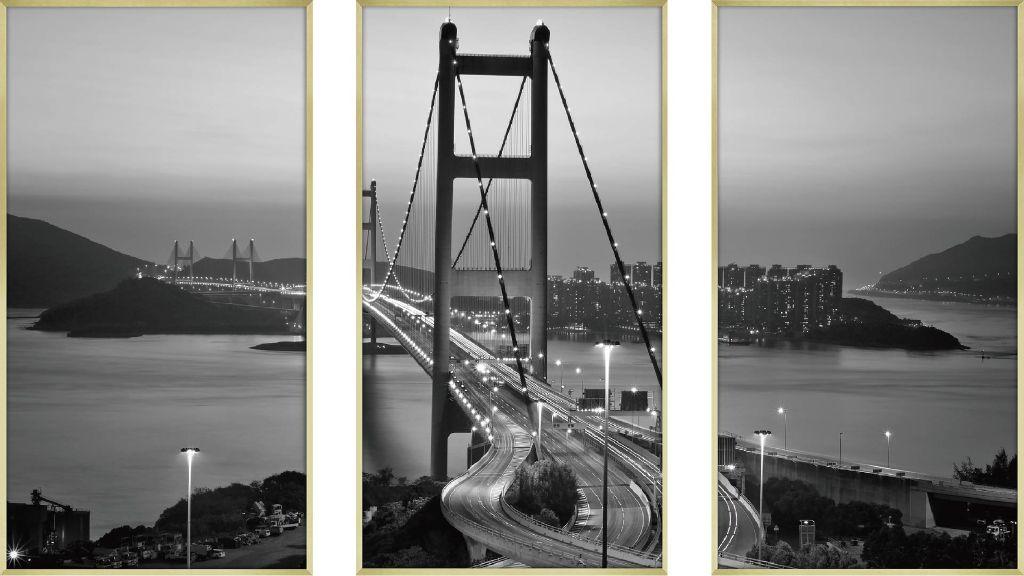 アートフレーム CLASSIC B&W PHOTOGRAPHY 3枚セット ipl-61130 絵画 壁掛け おしゃれ 送料無料