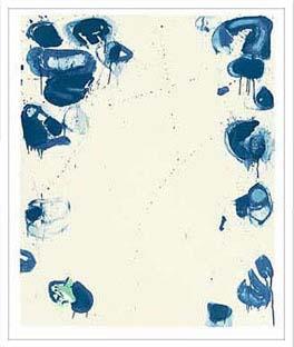 アートフレーム サム・フランシス Sam Francis Blue Ballsiv,1960 isf-60364 絵画 壁掛け おしゃれ