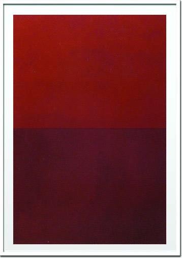 アートフレーム ウラード・ フィエリ Vlado Fieri Monochrome Red,2005(Silkscreen) ivf-14369 絵画 壁掛け おしゃれ 送料無料