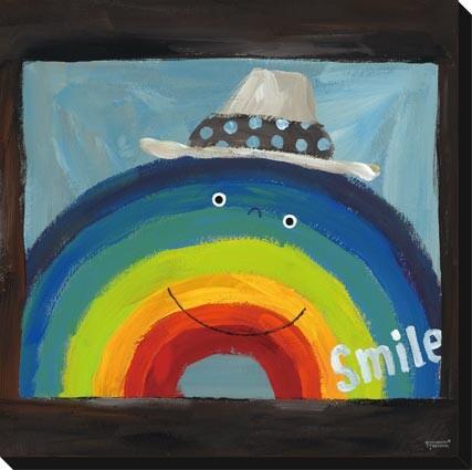 キャンバスアート 絵本作家 たけうち よしひと Art Panel Yoshihito Takeuchi zyt-51277 絵画 壁掛け おしゃれ かわいい 送料無料