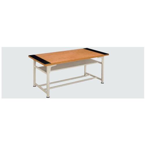 生徒用工作台 AMT-183-K 高670mm 送料無料[メール便不可](備品 美術机・工作台・椅子)(個人宅配送不可)