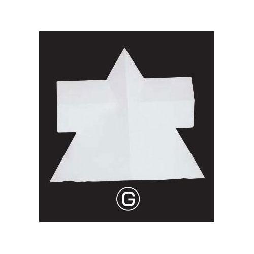 大型幾何形立体模型単体g角錐角柱相 荷造費込 送料無料[メール便不可](備品 石膏像(岡石膏))(個人宅配送不可)