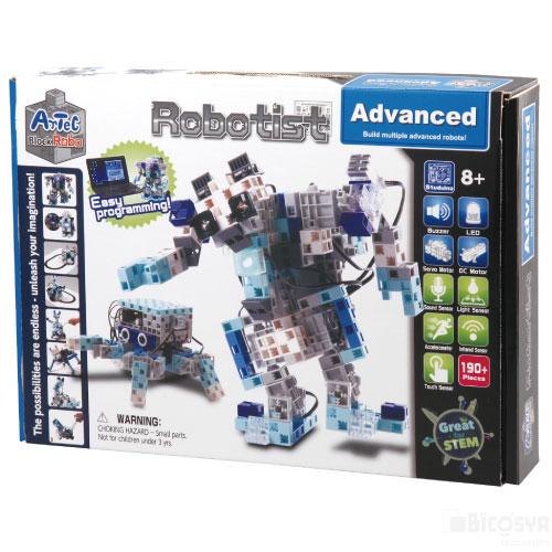 ロボットセット Artec Robo Advanced アーテックロボ アドバンス 送料無料[メール便不可](アーテックブロック ロボット アルディーノ互換 電子工作キット Raspberry Pi ラズベリーパイ)