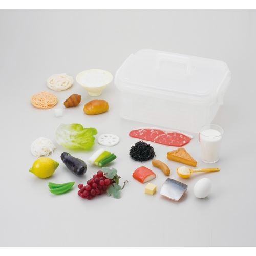 食品模型マグネットタイプ (6つの食品群24種) 送料無料[メール便不可](知育玩具 食育)
