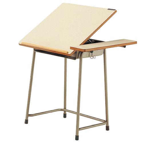 美術机 AZ7110-W 5A号 送料無料[メール便不可](備品 美術机・工作台・椅子)(個人宅配送不可)
