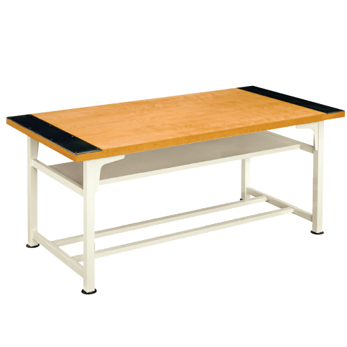 生徒用工作台 AMT-183-K 高760mm 送料無料[メール便不可](備品 美術机・工作台・椅子)(個人宅配送不可)