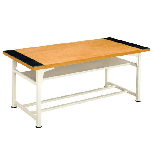 生徒用工作台 AMT-183-S 高760mm 送料無料[メール便不可](備品 美術机・工作台・椅子)(個人宅配送不可)