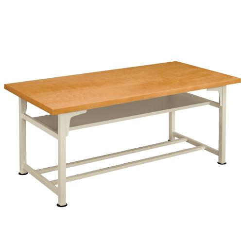 生徒用工作台 AMT-180-S 高760mm 送料無料[メール便不可](備品 美術机・工作台・椅子)(個人宅配送不可)