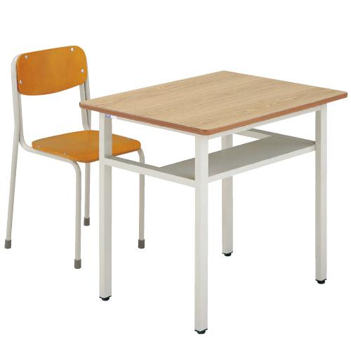机・椅子セットAKG-9620-IMDセット 6号 送料無料[メール便不可](備品 美術机・工作台・椅子)