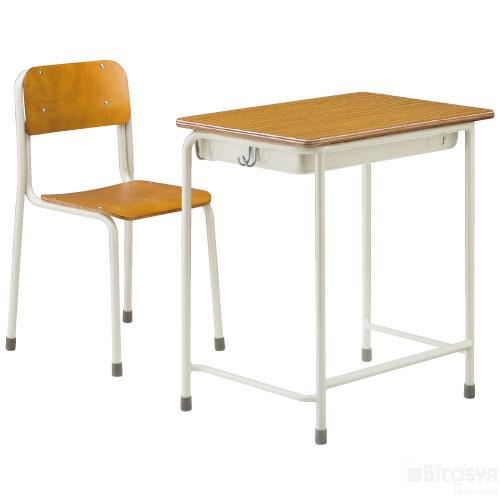 SS机・椅子セットAKGZ-2410-IDT1セット(6号) 送料無料[メール便不可](備品 美術机・工作台・椅子)(個人宅配送不可)