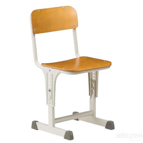 SSチェアACR-0100-IDM 送料無料[メール便不可](備品 美術机・工作台・椅子)