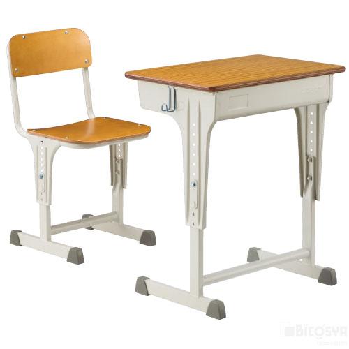 SS机・椅子セットAKS-0100-IDVセット 送料無料[メール便不可](備品 美術机・工作台・椅子)