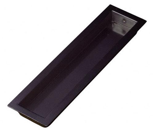 長方形型の定番戸引手 横引き用 釘止め BIDOOR 登場大人気アイテム ビドー PB-555 105mm 赤銅 平面長角戸引手 2020