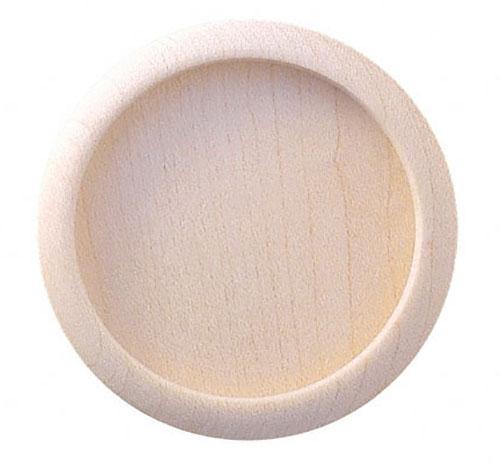 待望 木製の定番襖引手 横引き用 接着剤止め 2020新作 50個入 BIDOOR ビドー PW-04 生地 木製白木丸 サイズ大