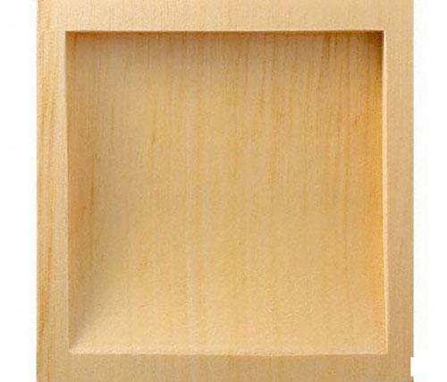木製の定番襖引手 横引き用 接着剤止め BIDOOR ビドー 春の新作続々 サンライト片チリ角 上質 PW-130 サイズ中 クリアー