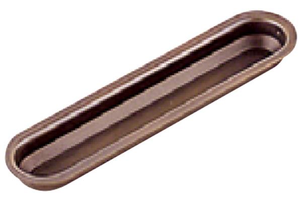 20個入 BEST(ベスト) No.2335 彫込引手 古代ブロンズ 105mm (コード2335-105-3)