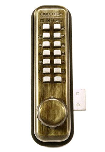 10セット入 TAIKO(タイコー) 太幸 No.5100AB デジタルロック面付錠 標準ラッチ/固定サムターン