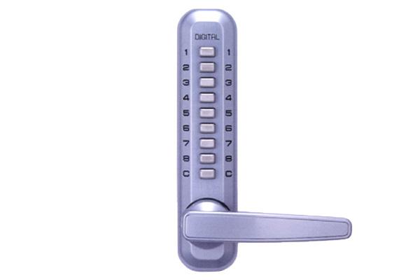 10セット入 TAIKO(タイコー) 太幸 No.8300 シルバー スーパー8 デジタルロックラッチ錠 ‐