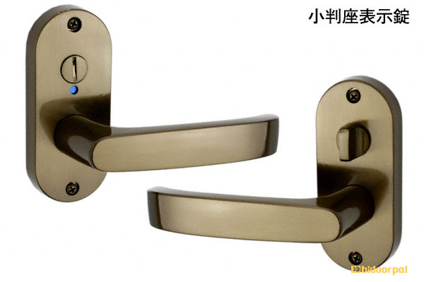 20セット入 川口技研 GIKEN Jレバー No.24 ブラウン 小判座表示錠 (BS60) JL-24-4K-Br-60