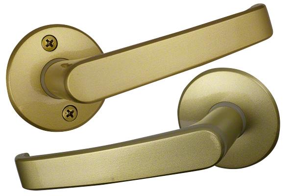 TAIKO(タイコー) ターボレバーハンドル No.2100 GO(ゴールド) 空錠 バックセット51mm 20セット入