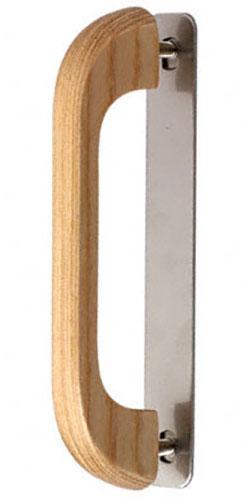 30本入 BIDOOR(ビドー) HW-581-S ハサミ止白樺リーダー取手 クリアー サイズ小(特売)