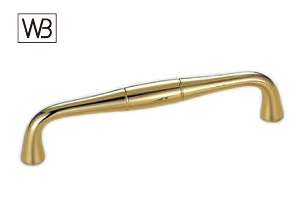 20本入 シロクマ HB-81 クラフトハンドル 金 90mm