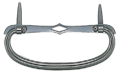 SHIROKUMA(シロクマ)製のカン。古美仕上。 50個入 シロクマ SB-2 菱座丸カン 古美 大