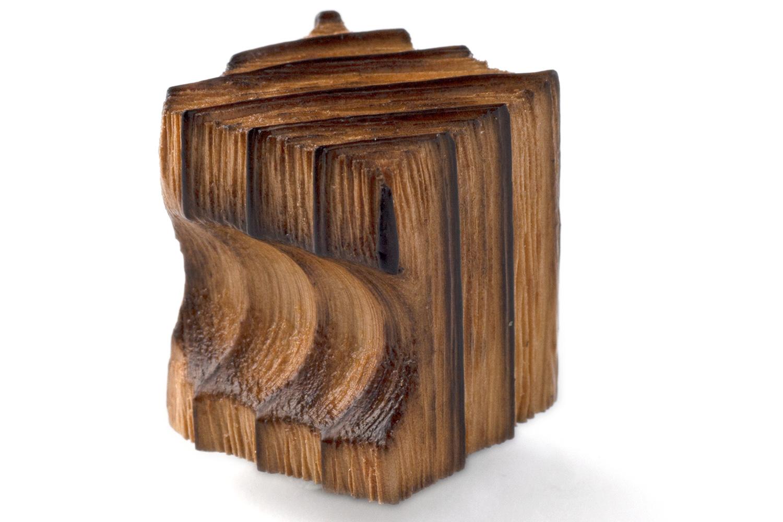 抗ウイルス仕様 SIAA取得 の木製つまみ 与え BIDOOR 蔵 ビドー KW-5221 焼杉つまみ 25mm 角型 生地