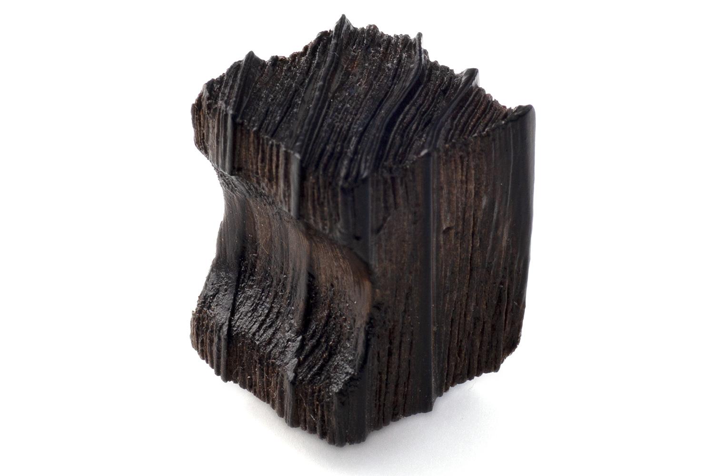 抗ウイルス仕様 SIAA取得 の木製つまみ 現金特価 BIDOOR ビドー 22mm 捧呈 茶染 角型 KW-5222 焼杉つまみ