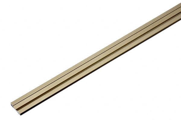 50本入 PALTECH(パルテック) パルフラットレール (アルミ)FXA21型 UB 1830mm(幅20.5) (品番 FXA2118-UB)