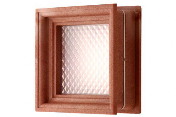 定番の明かり窓 適応戸厚は30mmと33mm 10組入 BIDOOR SALENEW大人気 5%OFF ビドー VP-60 角型明かり窓 - 茶