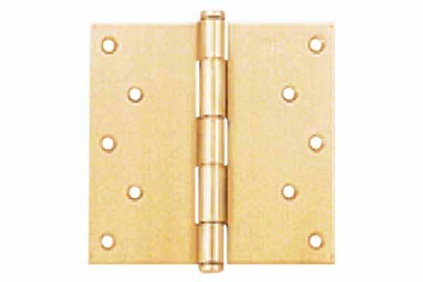 100枚入 BEST(ベスト) No.130 平儀星蝶番 (RA採用) ゴールド 2.5×102mm (コード130-2-2)