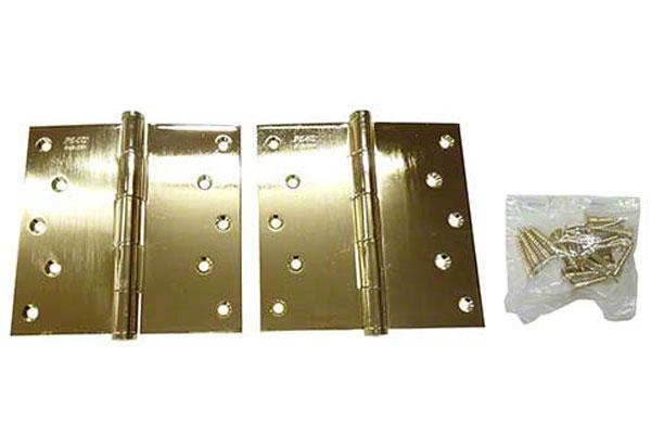 20枚入 クマモト PLUS 義星丁番ST 金色 2.5×127×127 (ST-5 金色)