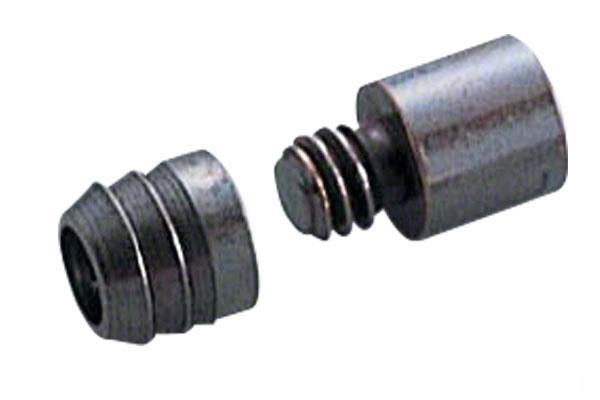 スリーナイン島野 真鍮 ダボ棚受 GB 12mm 7号・12×9mm・女 (200個入) (c15715)