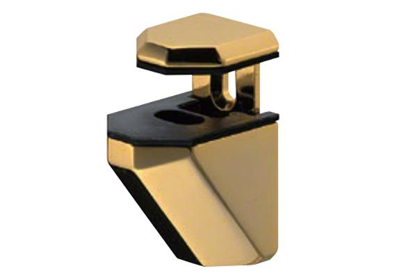 SHIROKUMA(シロクマ) TG-3 棚グリップC形 純金 Mサイズ (対応棚板厚2-21mm) 20個入