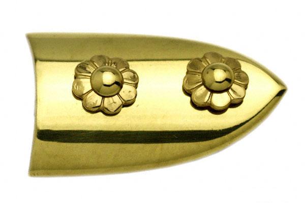 BIDOOR(ビドー) EB-27 笹金物 半笹形 磨上 50号 4個入