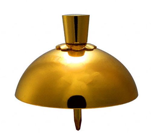 門扉などに使われる補強を兼ねた装飾金物 お気に入 BIDOOR ビドー EC-05 本日限定 45号 本金 乳唄金具