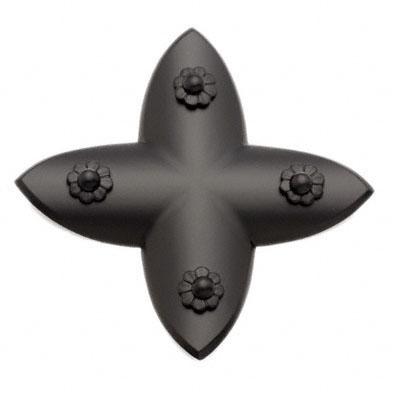 BIDOOR(ビドー) EC-80 笹金物 十字形 黒 70号