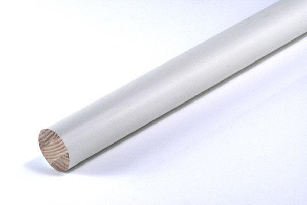 FROG(K9) 手すり丸棒32φ ホワイト 4m (品番 AT-C32-WH) 5本入 丸棒/コーナー材,木/合板,白色系,FROG(K9)