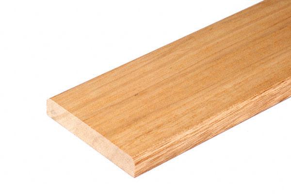 FROG(K9) 手すり用補強板 メラピ材 クリア 4000×130巾