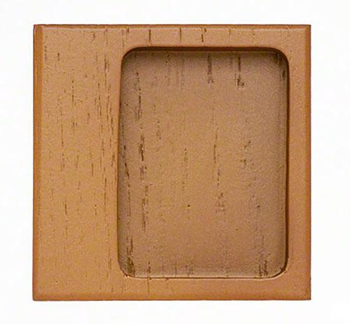 カシューウルシを使った横引き用の襖引手。 20個入 BIDOOR(ビドー) MW-244 モダンカシュー開用角渕 ウルミ サイズ中(特売)