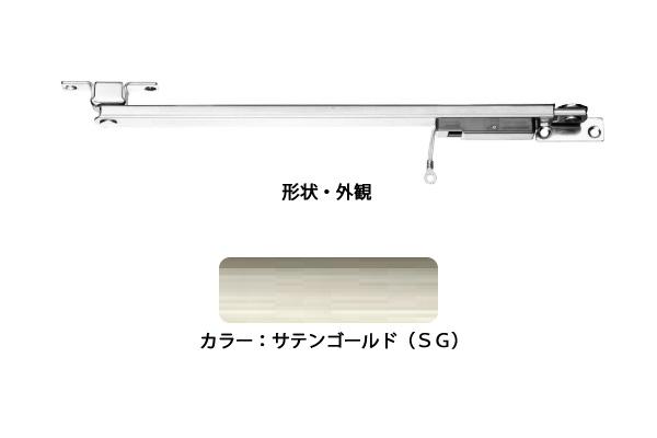 6本入 エイト ドアストッパー(SUS製) U3021CSG(SG) 高受型 ストップ機能付 ‐